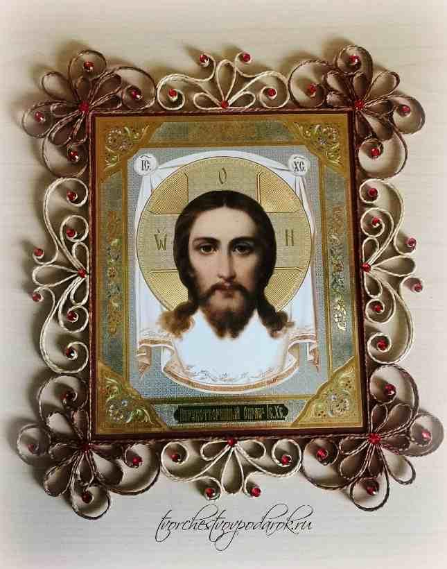 Поздравление с Пасхой, Нерукотворный образ Христа