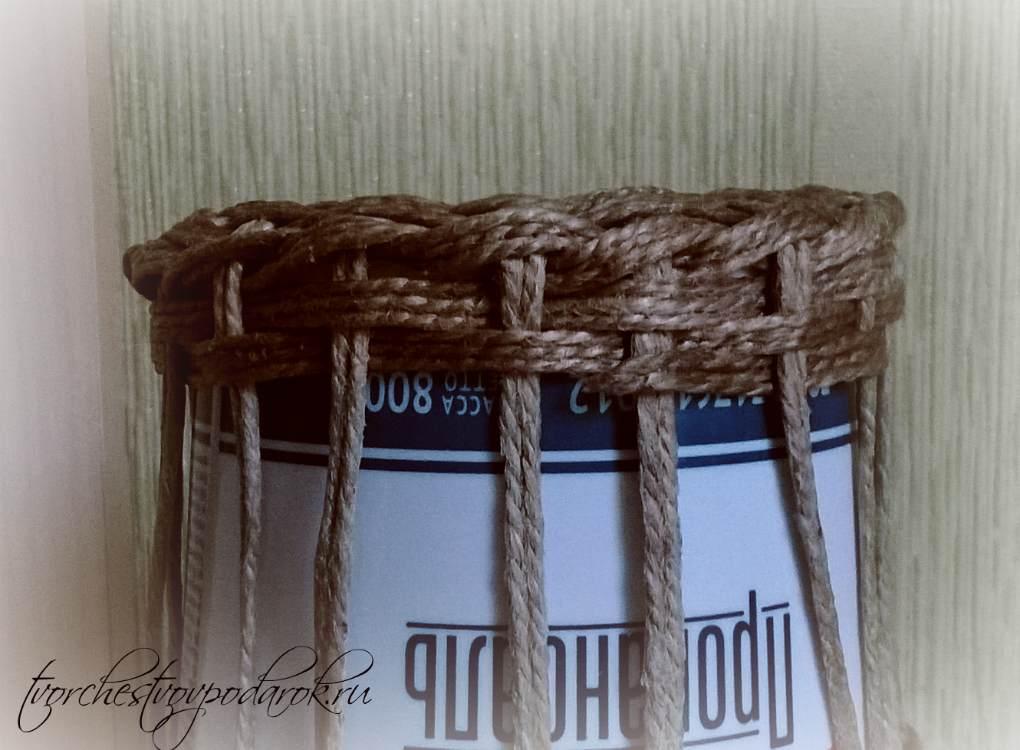 Плетение из пеньковой веревки своими руками 45