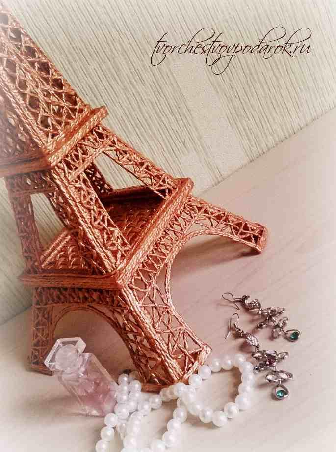 Эйфелева башня сделана своими руками 917