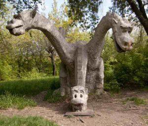 необычные удивительные памятники