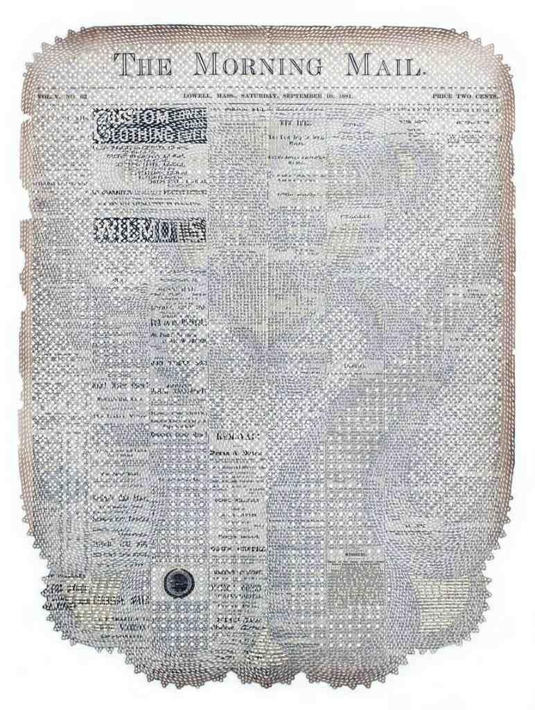 искусство из газет